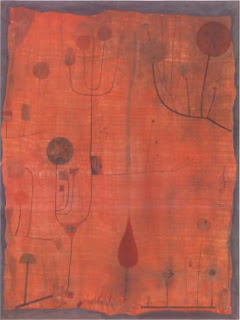 Paul Klee painting - Fruchte Auf Rot
