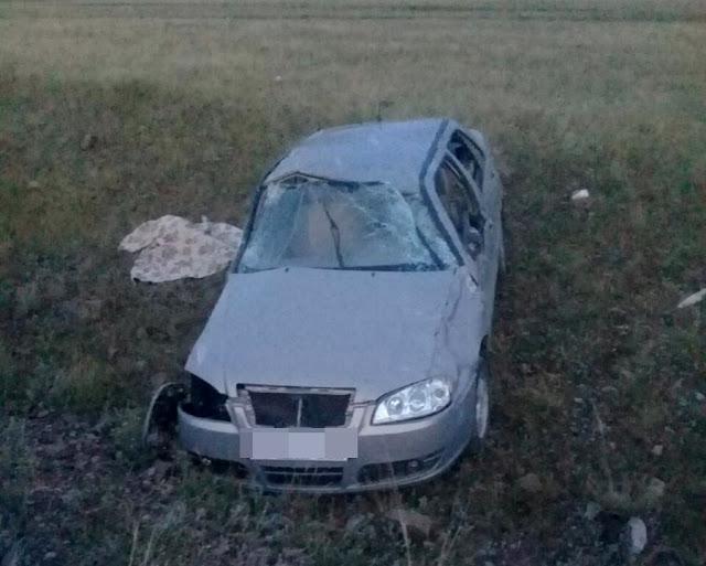Vortex Corda съехала в кювет: погиб водитель