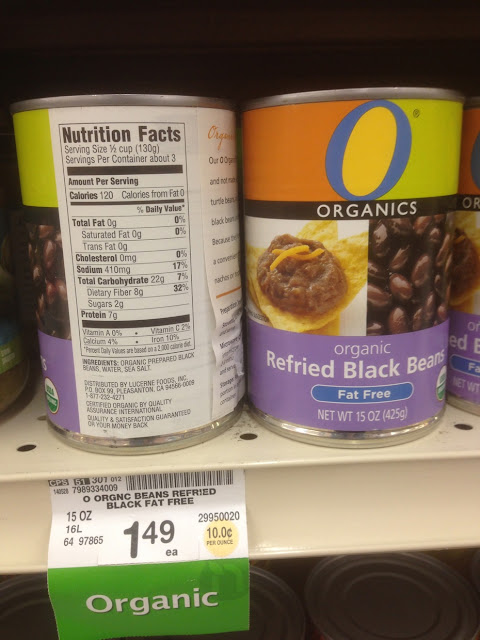 Refried Black Beans, Organics - Safeway