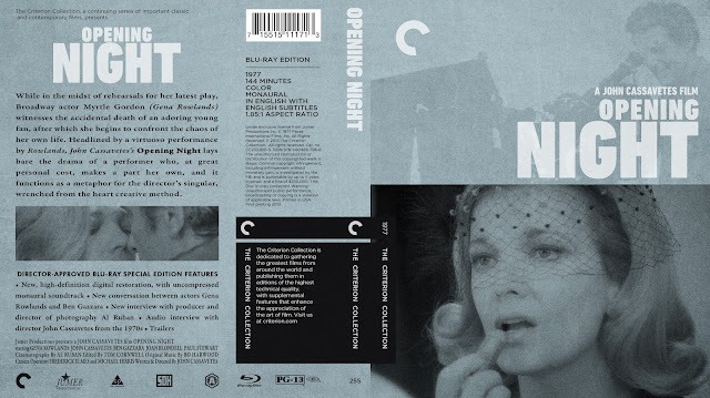 Opening Night Bluray Cover