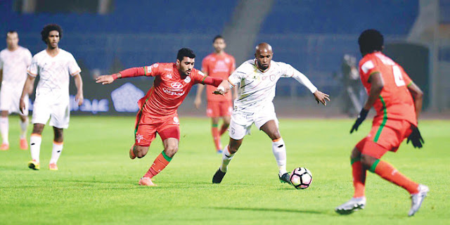 الشباب والإتفاق.. نتيجة مباراة الشباب والإتفاق اليوم 14-01-2018 الدوري السعودي