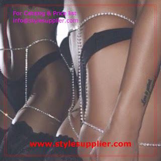 chain garter belt