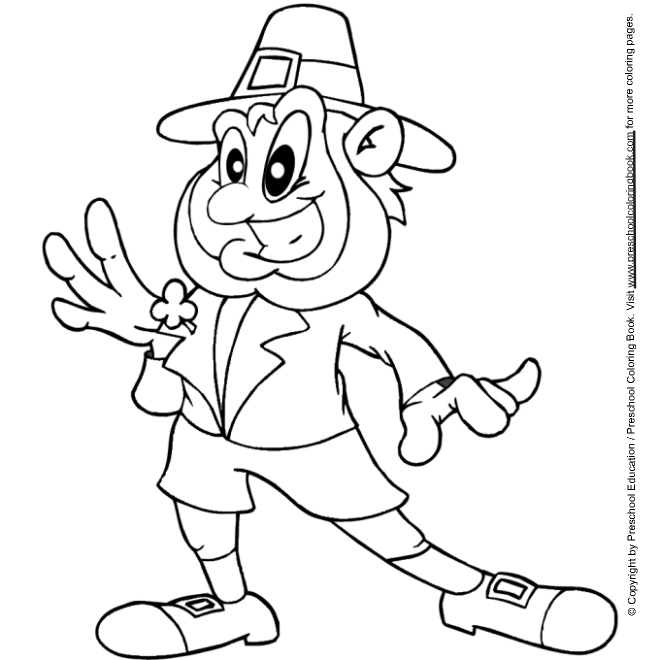 leprechuan coloring pages | St. Patrick's Day Leprechaun Coloring Pages >> Disney ...