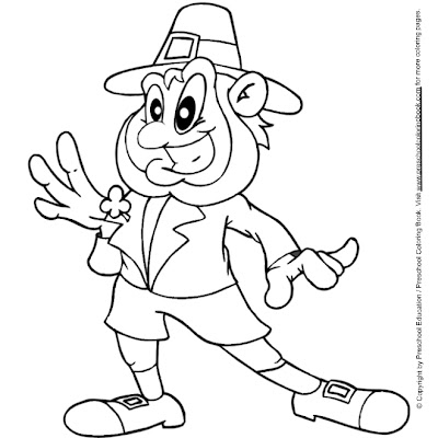 St. Patrick's Day Leprechaun Coloring Pages >> Disney