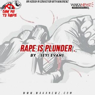 RAPE IS PLUNDER (by SeyiEvans)
