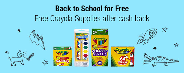Saving with TaLis: Free Crayola Supplies After Cash Back
