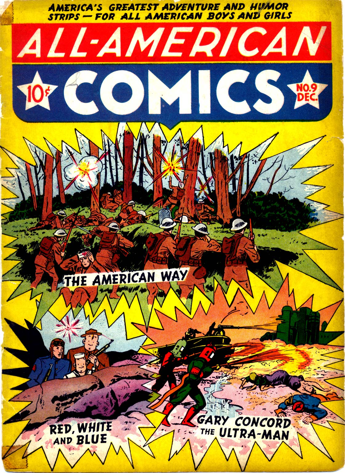 Read online All-American Comics (1939) comic -  Issue #9 - 1