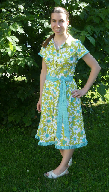Vintagey shirt-dress