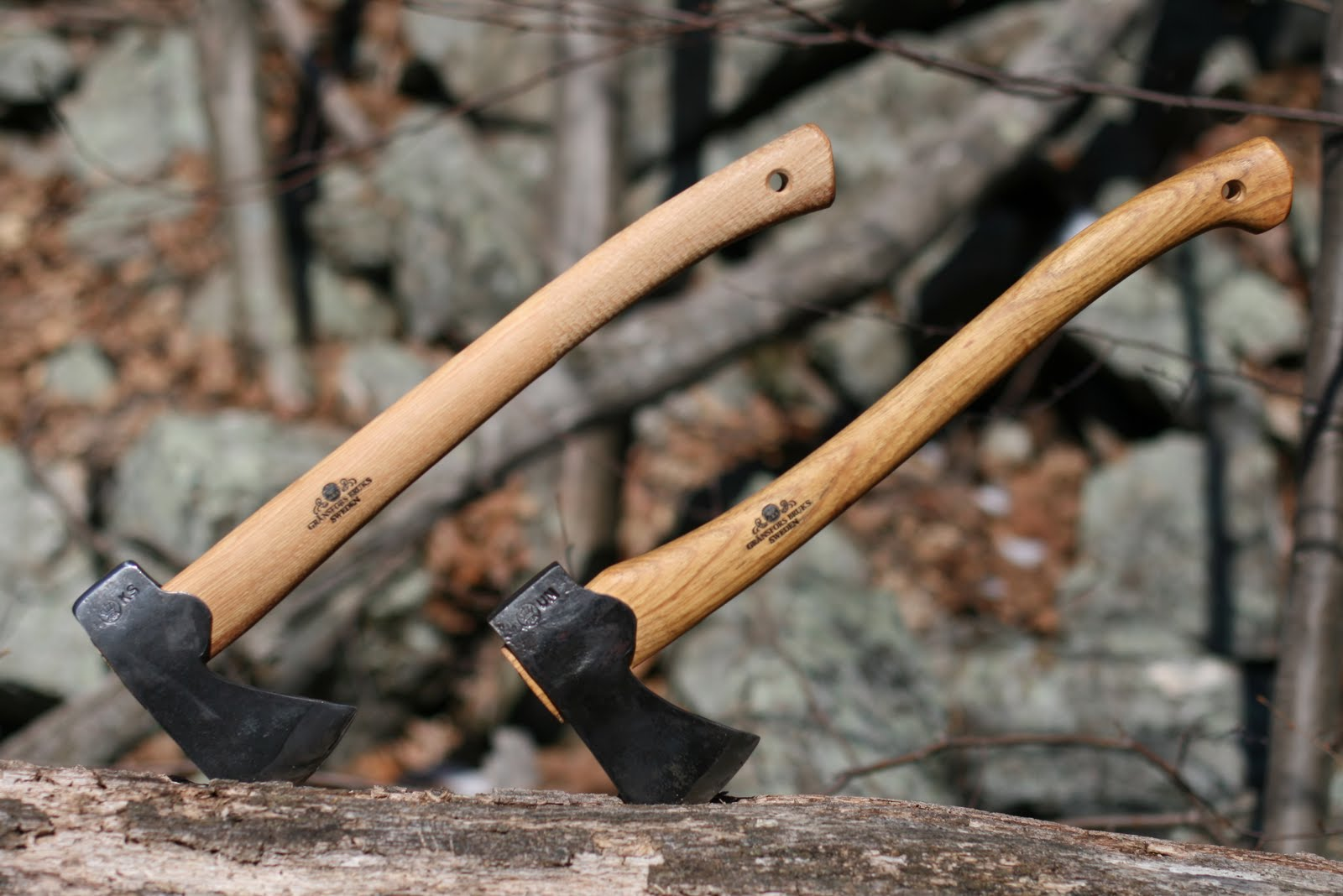 The Handle Of Hunters Axe A Little Shorter Than That Small Forest It Also Has Completely Different Shape While
