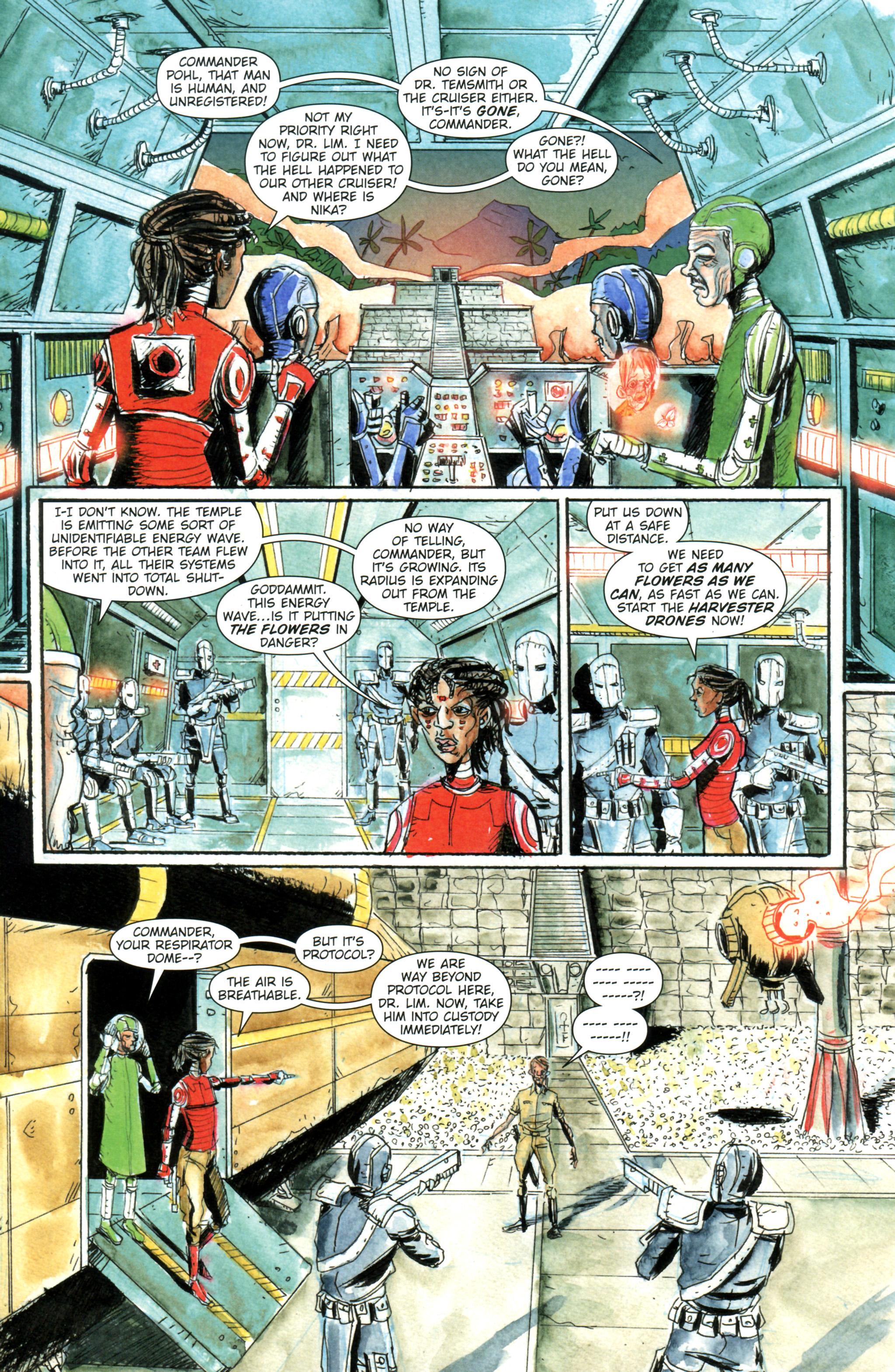 Read online Trillium comic -  Issue #4 - 5