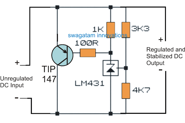 High Power Zener Diode circuit