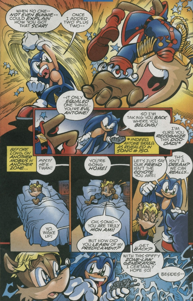 Read online Sonic The Hedgehog comic -  Issue #156 - 29