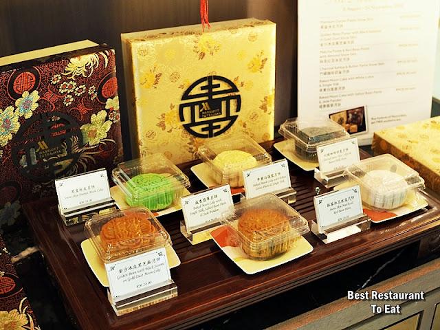 Marriott Putrajaya Hotel Moon cake 2018 Flavours