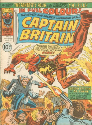 Marvel UK, Captain Britain #13, Dr Synne