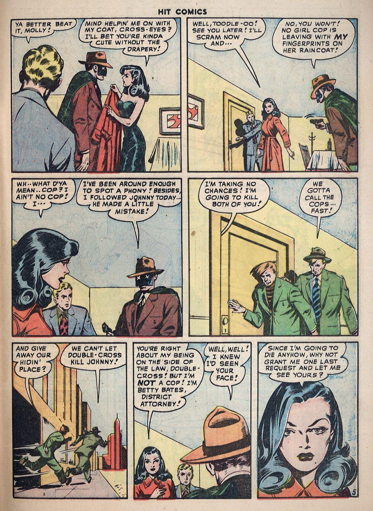 Read online Hit Comics comic -  Issue #55 - 43