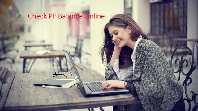 Check PF online