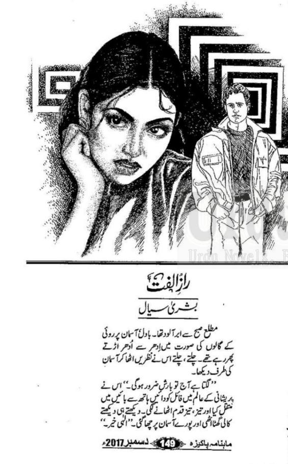 READING POINT: Raaz e ulfat by Bushra Sayal