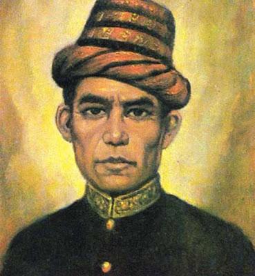 Biografi Teuku Umar        Teuku Umar. Ia dilahirkan pada tahun 1854 (tanggal dan bulannya tidak tercatat) di Meulaboh, Aceh Barat, Indonesia. Ia merupakan salah seorang pahlawan nasional yang pernah memimpin perang gerilya di Aceh sejak tahun 1873 hingga tahun 1899. Kakek Teuku Umar adalah keturunan Minangkabau, yaitu Datuk Makdum Sati yang pernah berjasa terhadap Sultan Aceh. Datuk Makdum Sati mempunyai dua orang putra, yaitu Nantan Setia dan Achmad Mahmud. Teuku Achmad Mahmud merupakan bapak Teuku Umar.  Ketika perang aceh meletus pada 1873 Teuku Umar ikut serta berjuang bersama pejuang-pejuang Aceh lainnya, padahal umurnya baru menginjak19 tahun. Mulanya ia berjuang di kampungnya sendiri yang kemudian dilanjukan ke Aceh Barat. Pada umur ini, Teuku Umar juga sudah diangkat sebagai keuchik (kepala desa) di daerah Daya Meulaboh.  Kepribadiaan Teuku Umar sejak kecil dikenal sebagai anak yang cerdas, pemberani, dan kadang suka berkelahi dengan teman-teman sebayanya. Ia juga memiliki sifat yang keras dan pantang menyerah dalam menghadapi segala persoalan. Teuku Umar tidak pernah mendapakan pendidikan formal. Meski demikian, ia mampu menjadi seorang pemimpin yang kuat, cerdas, dan pemberani.  Pernikahan Teuku Umar tidak sekali dilakukan. Ketika umurnya sudah menginjak usia 20 tahun, Teuku Umar menikah dengan