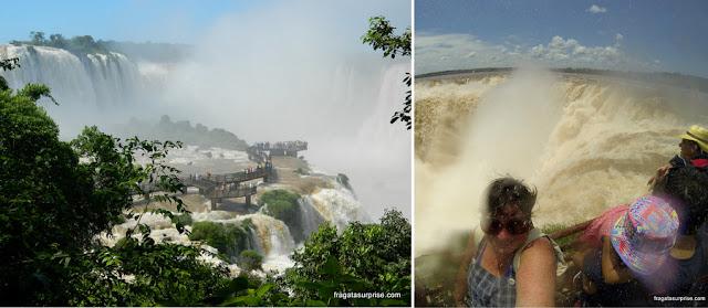 Cataratas do Iguaçu - lado brasileiro e argentino