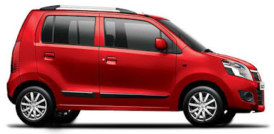 Maruti Suzuki Wagon R Red side Image