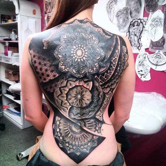 beautiful tattoo mehndi design alphabet a