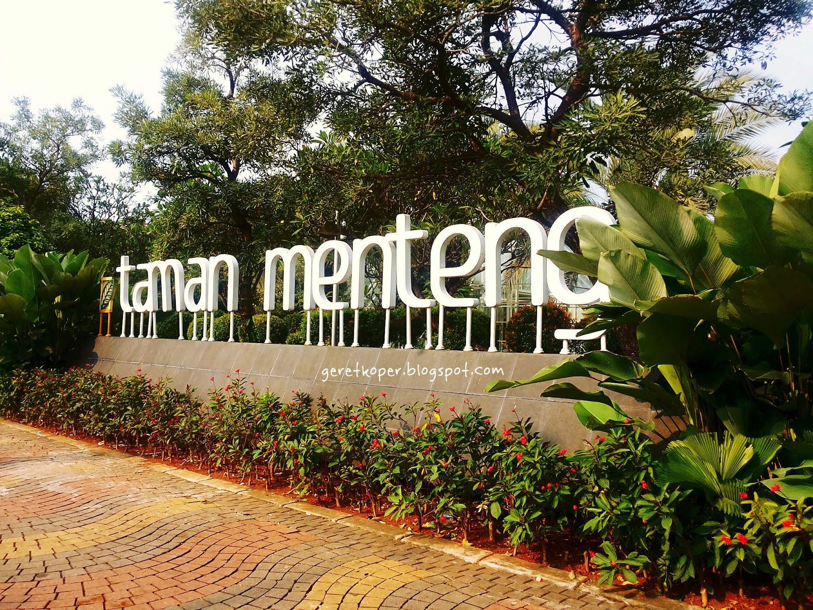 Taman Jakarta 1 Taman Menteng Ketika Stadion Bola Berubah