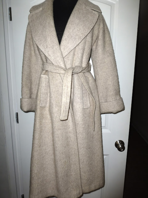 vintage Forecaster of Boston wrap coat