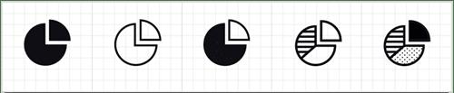 Criar diversas variações do mesmo ícone.