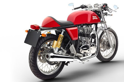 Royal Enfield Continental GT rear look