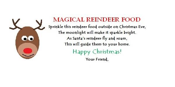 One Creative Housewife Magical Reindeer Food