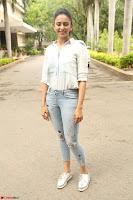 Rakul Preet Singh in Jeans and White Shirt At Jaya Janaki Nayaka le Logo Launch ~  Exclusive 045.JPG