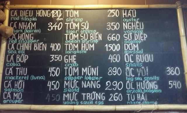 цены в кафе Боке