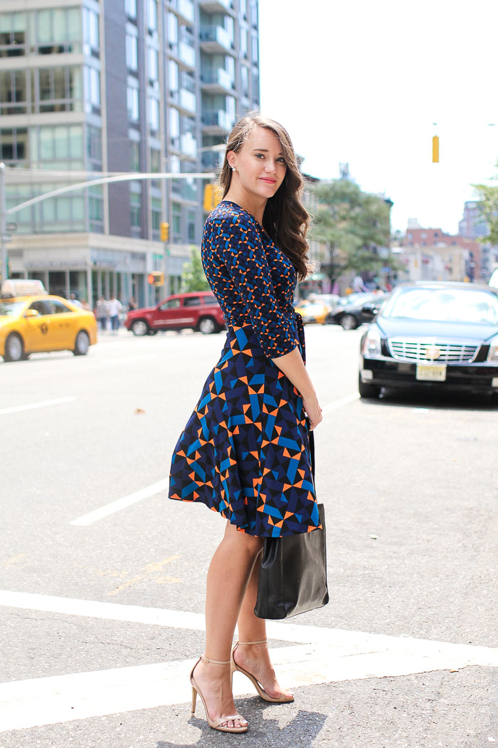 Krista Robertson, Covering the Bases, Travel Blog, NYC Blog, Preppy Blog, Style, Fashion Blog, Summer Dresses, NYC Street Style, Fall to Summer Pieces, Geometric Pattern