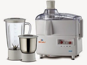 Bajaj Amaze 450 watts Juicer Mixer Grinder for Rs.1899 Only (Lowest Price Deal for Limited Period)