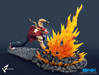 "Imágenes de Terry Bogard 1/4 Scale Diorama Statue de ""King of Fighters"" -  Kinetiquettes"