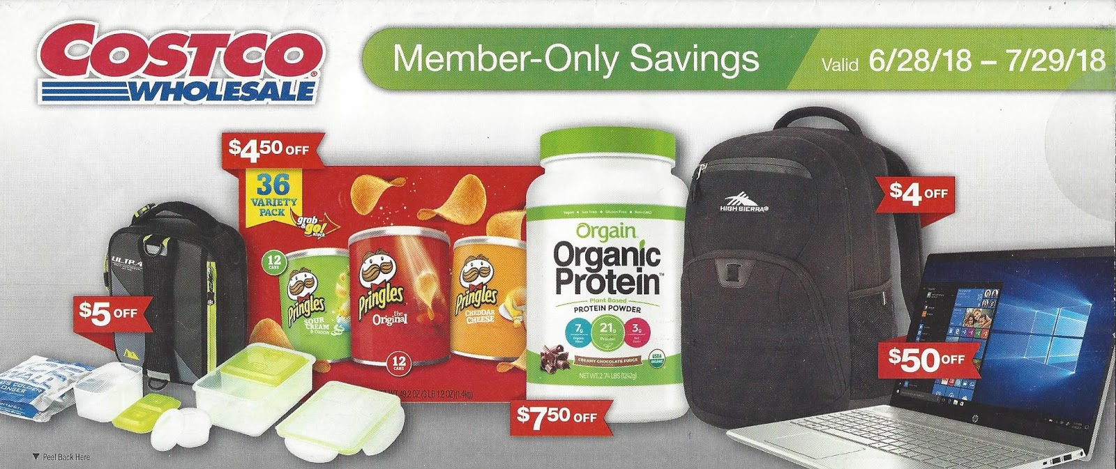 July 2018 Costco Coupon Book