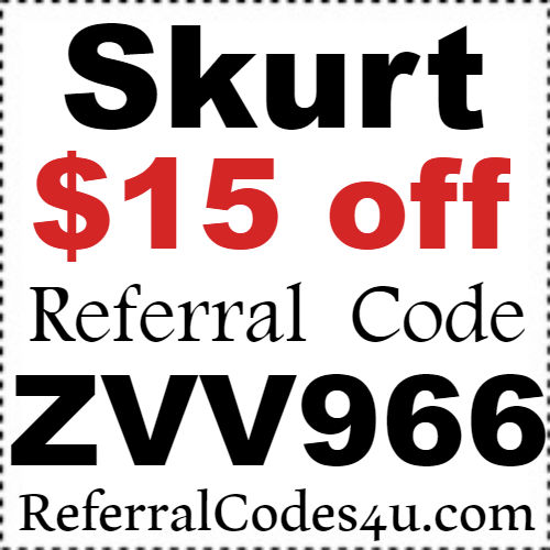 Skurt Coupon Code March, April, May, June, July, August 2021: Skurt App Referral Code