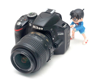 Jual Nikon D3200 kamera DSLR Bekas