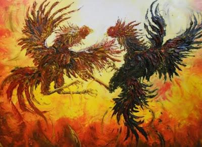 Affandi Lukisan Ayam