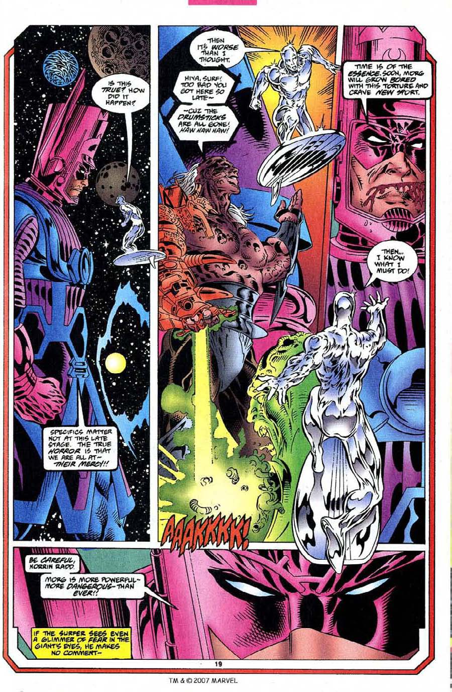 Silver Surfer (1987) Issue #109 #117 - English 21