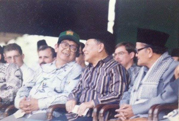 Bersama Gus Dur, 1 Juta Warga NU Rapat Akbar di Senayan Tahun 1992
