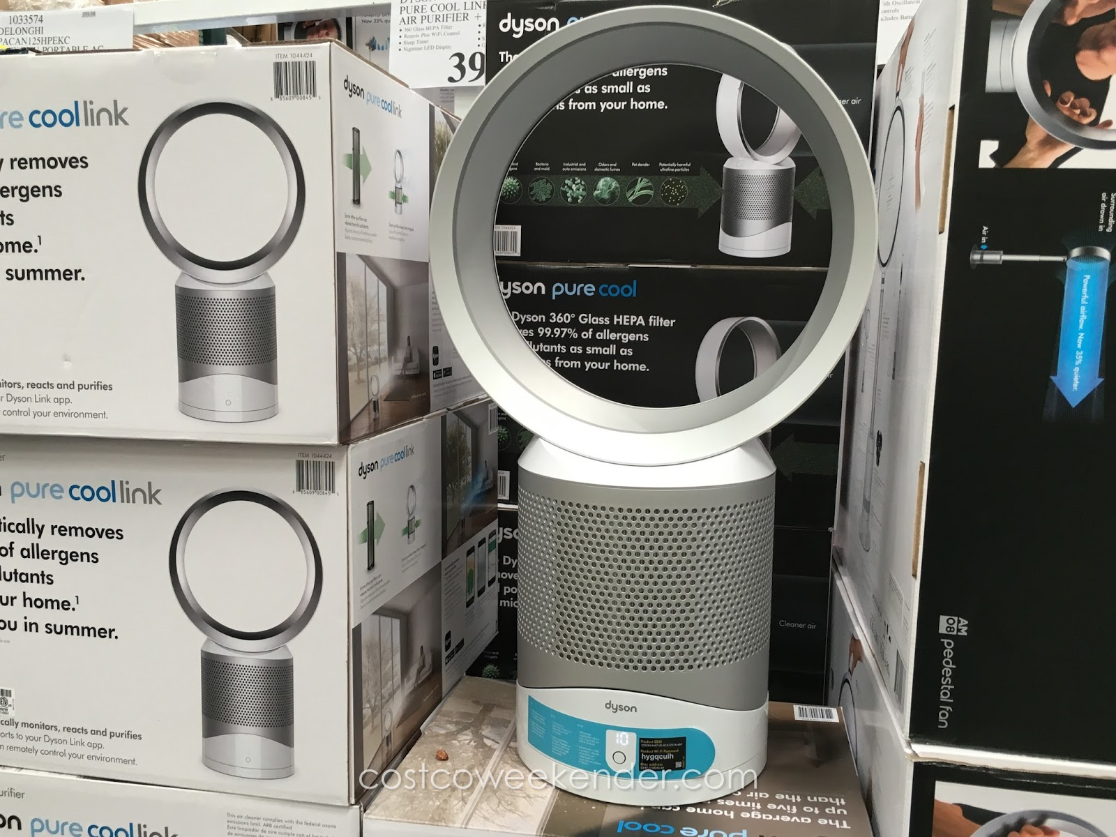 Dyson Pure Cool Link Hepa Air Purifier And Fan Costco
