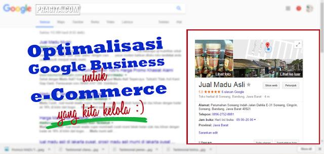 Daftarkan Produk atau Jasa di Google Bisnis