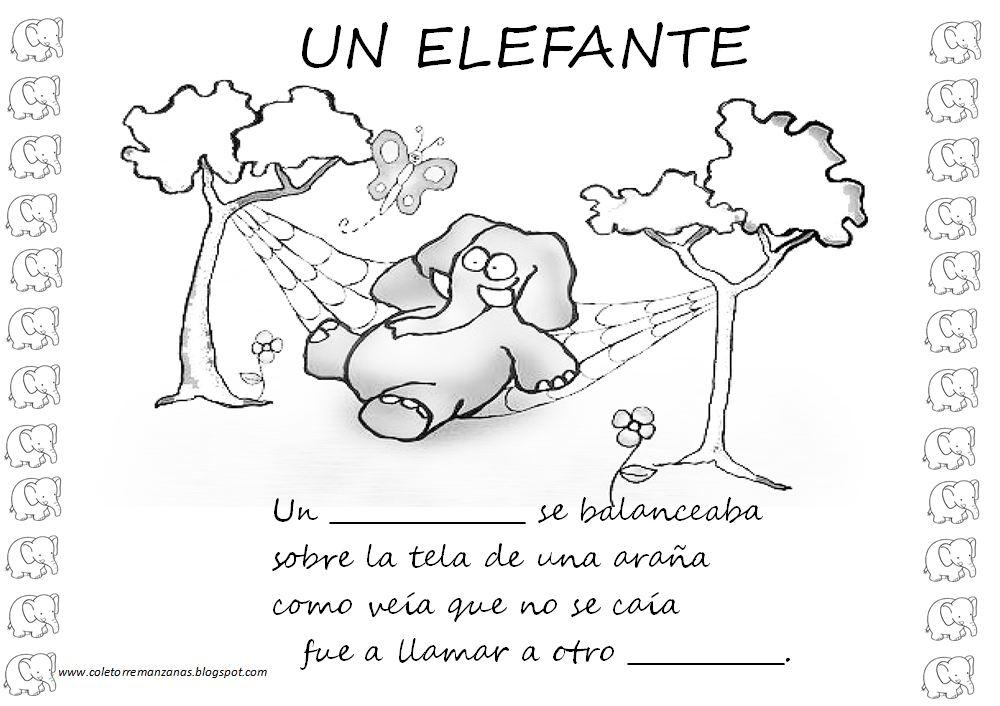 Diegosax Un Elefante Se Balanceaba Partitura Para Flauta Y Ficha