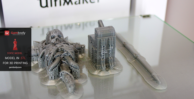 Chaplain Warhammer40k 3D print
