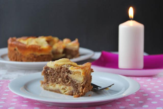 Kleiner Apfelkuchen, der wie Lebkuchen schmeckt | pastasciutta.de