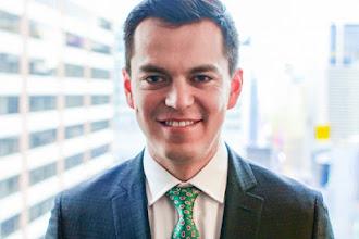 Michael Valdivieso, alumni USFQ, destaca en Europa en materia de desarrollo sostenible