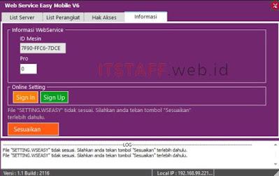 Web Service 2116 - ITSTAFF.web.id