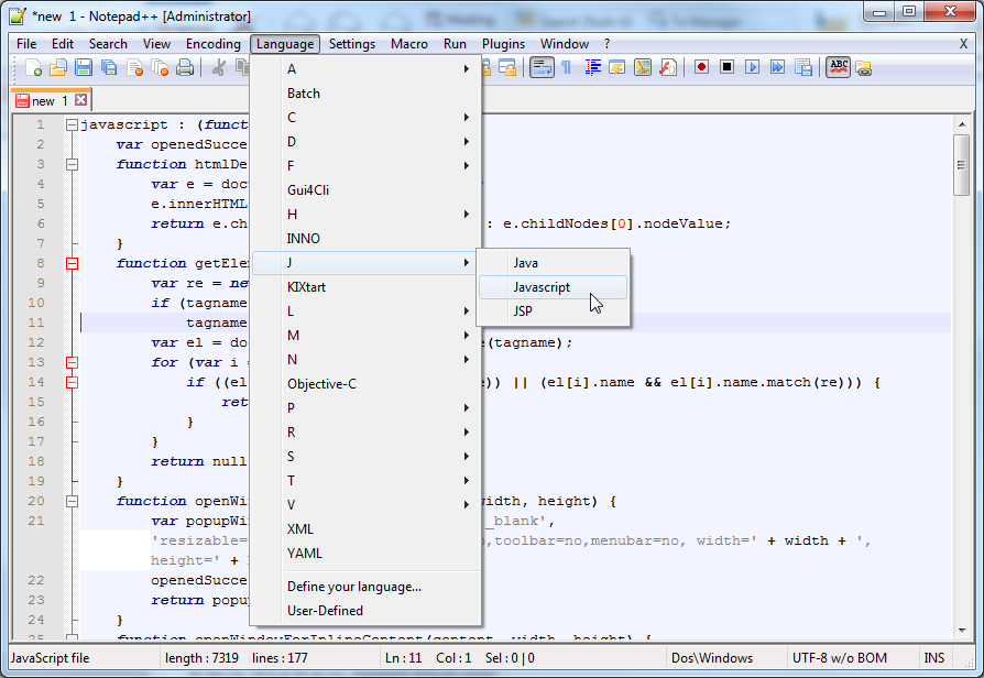 Alon In The World - Fugue In C# Major: Bookmarklets FTW
