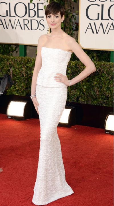 fashion at Golden Globe Red carpet 2013